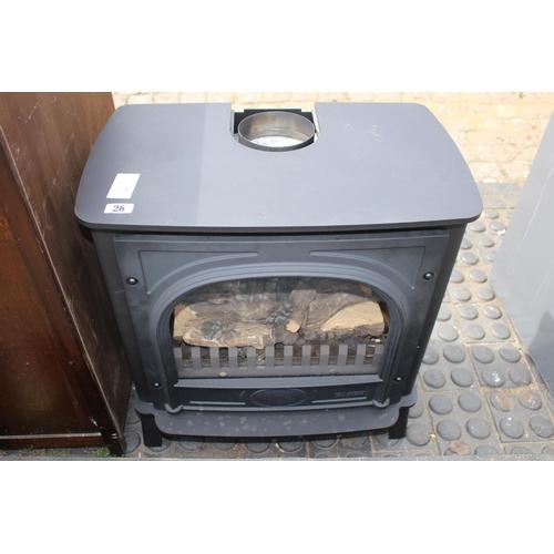 26 - Gazco Gas Cast Iron Heater 8617 Model...