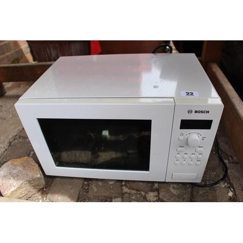 22 - Bosch Microwave...