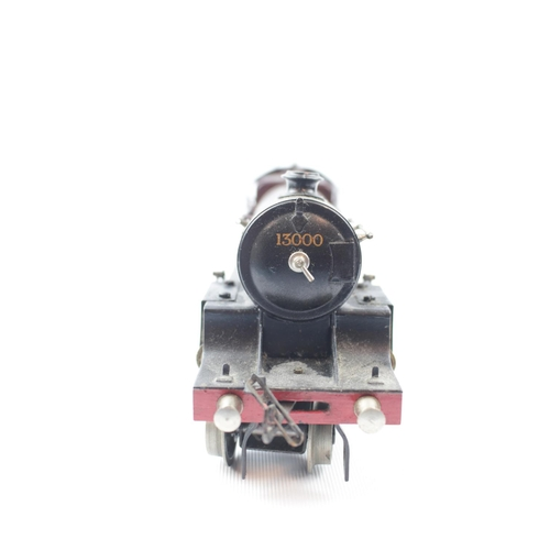 1 - A Bassett-Lowke '0' gauge 4-6-0 live steam locomotive no.5524 with associated six wheel tender no.13...