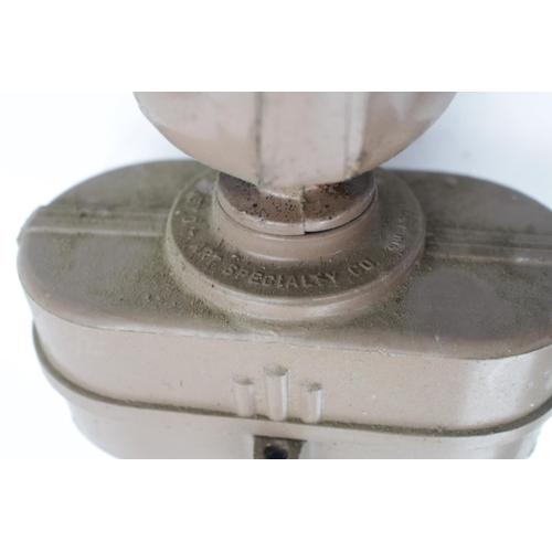 27 - Vintage Flexo Art Speciality Co Chicago 1950s Adjustable Long arm workshop desk lamp...