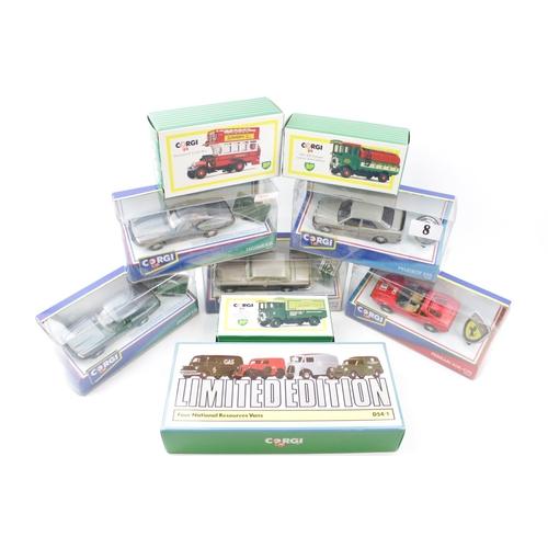 8 - Collection of Corgi Boxed Vehicles inc. Rolls Royce Corniche Ferrari 308 etc (9)...