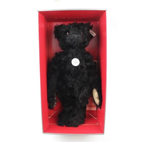 9 - Steiff bear, British collectors bear, 1912 replica Teddy bear, limited edition 2318 of 3000, black b...