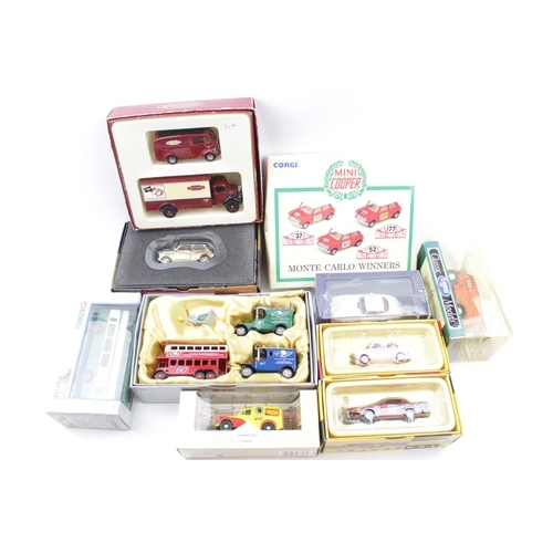 21 - Very Large collection of assorted Corgi, Lledo Days Gone Matchbox etc...