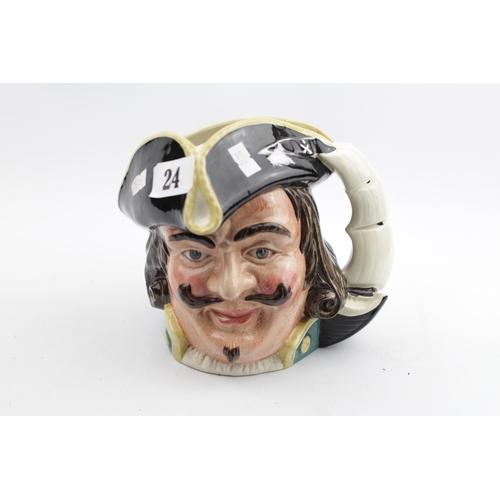 24 - Royal Doulton Captain Henry Morgan Character Jug D6467