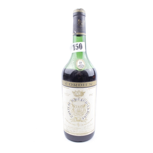 59 - Bottle of 1962 Chateau Gruaud Larose Cordier Saint Julien...