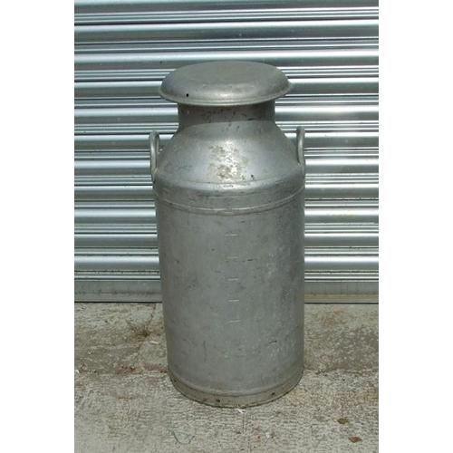 11 - An Express Dairy Co. 10-gallon aluminium milk churn.