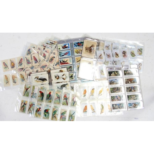 43 - A large quantity of ornithological related cigarette and trade cards covering various birds from aro...