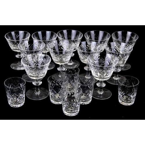 56 - A quantity of cut glass