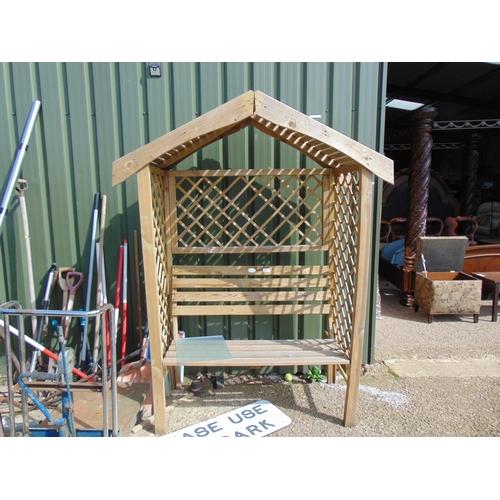 24 - garden \ bench seat