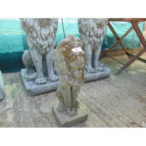 8 - Small garden lion