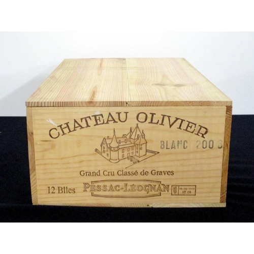51 - 12 bts Ch. Olivier 2006 owc Pessac-Léognan Grand Cru Classé de Graves
