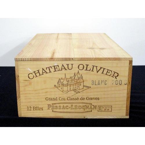 53 - 12 bts Ch. Olivier 2006 owc Pessac-Léognan Grand Cru Classé de Graves