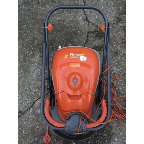 1 - Flymo electric mower...