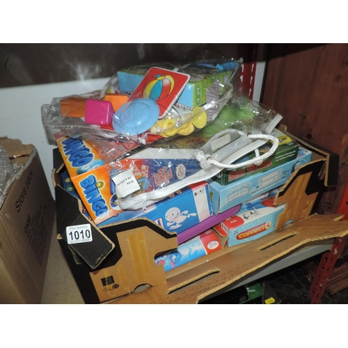 1010 - Box of toys...