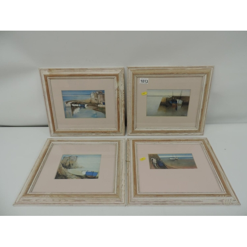 1013 - 4x Framed prints...