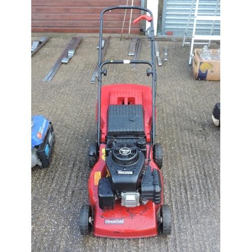 102 - Mountfield petrol lawn mower...