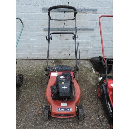 12 - Mountfield petrol engine lawn mower...