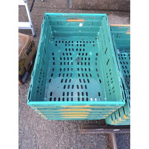 128 - Plastic crates...
