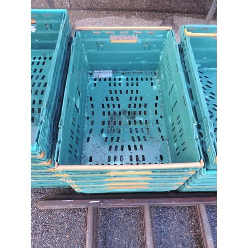 129 - Plastic crates...