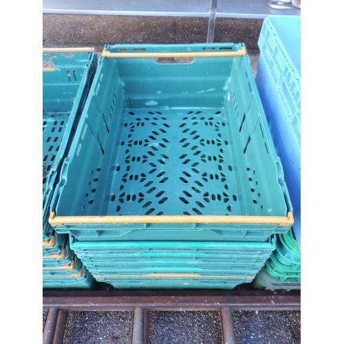 130 - Plastic crates...