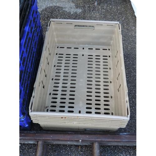 133 - Plastic crates...