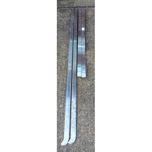 137 - Stainless Steel Butchers hangings/rails...