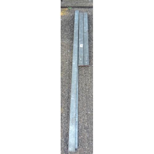 142 - Stainless Steel Butchers hangings/rails...