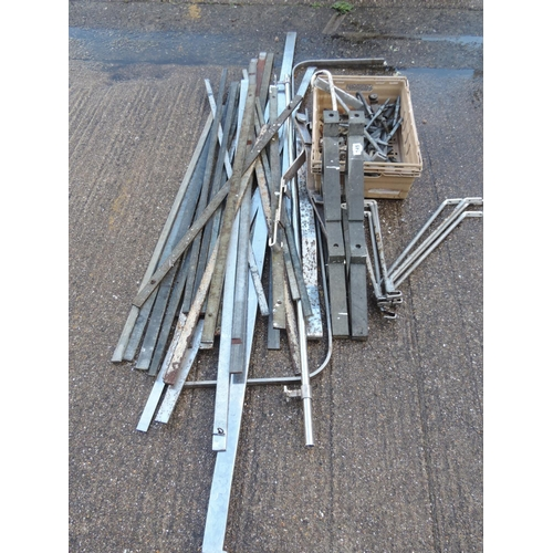 147 - Stainless Steel Butchers hangings/rails...