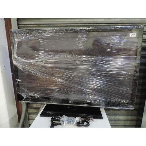 152 - LG 42'' flatscreen television with remote control...