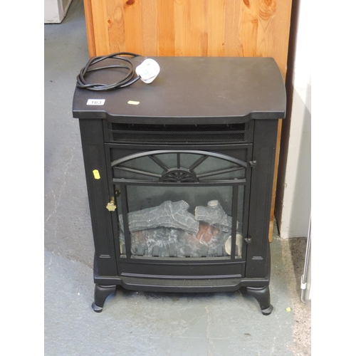 163 - Wood burning stove effect electric fire...
