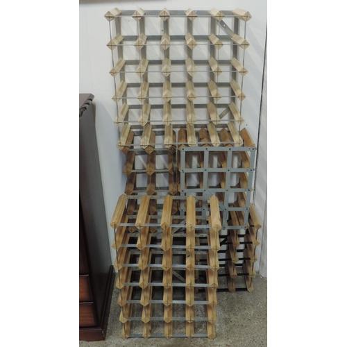 167 - Wine racks...