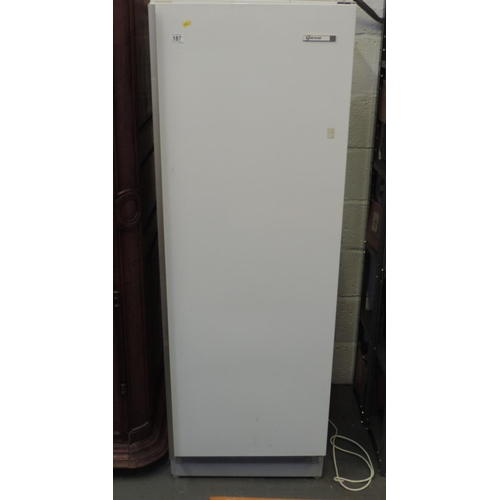187 - Gram upright refrigerator...
