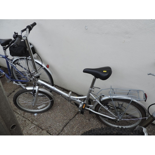 21 - Mayfair Optima folding bicycle - very little use...
