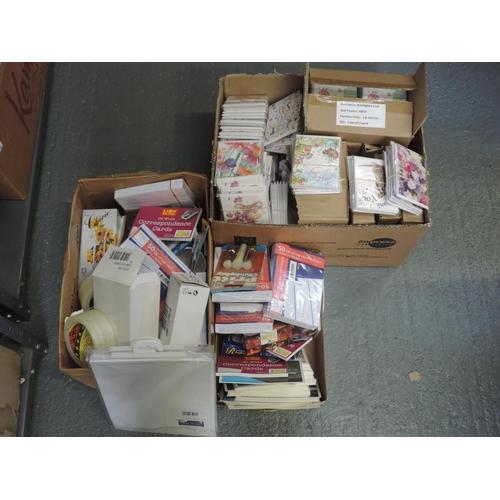 210 - Shelf of stationary...