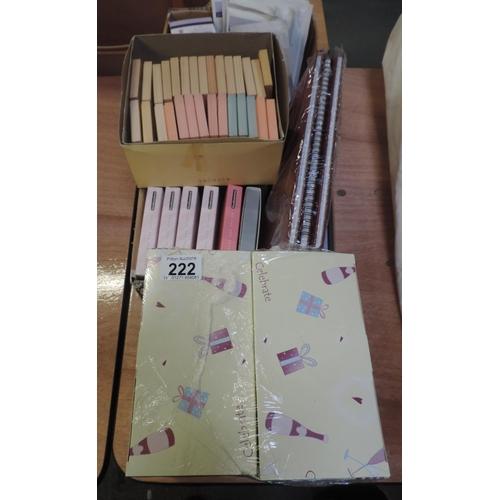 222 - Notelets etc...