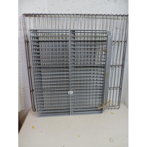 281 - Commercial racking - fridge or freezer...