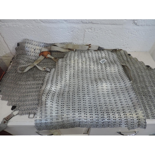 292 - Butcher's chainmail aprons...