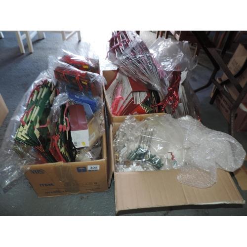 305 - Christmas gift bags etc...