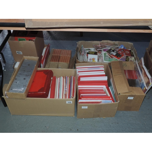 306 - Large quantity of cards - Christmas etc...