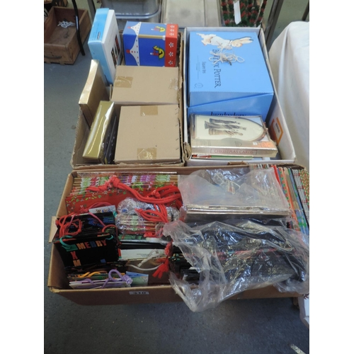 310 - Quantity of greetings cards and gift bags  - Christmas...