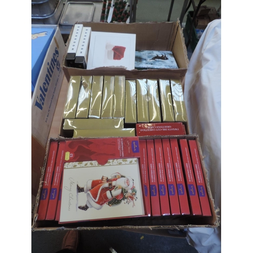 311 - Quantity of greetings cards  - Christmas...