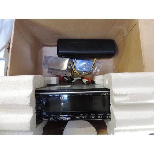 318 - Boxed Panasonic car CD player...