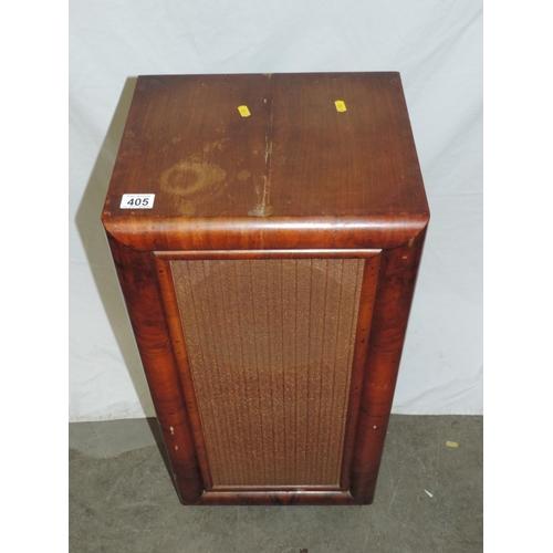 405 - Old loudspeaker...