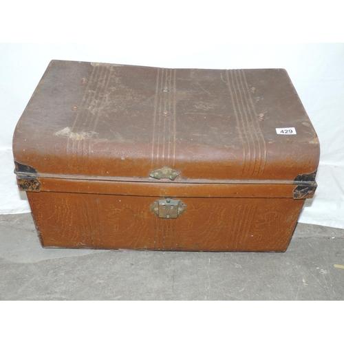 429 - Metal trunk...