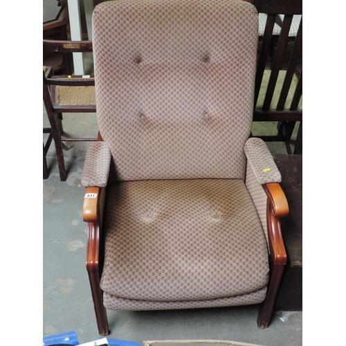 431 - Armchair...