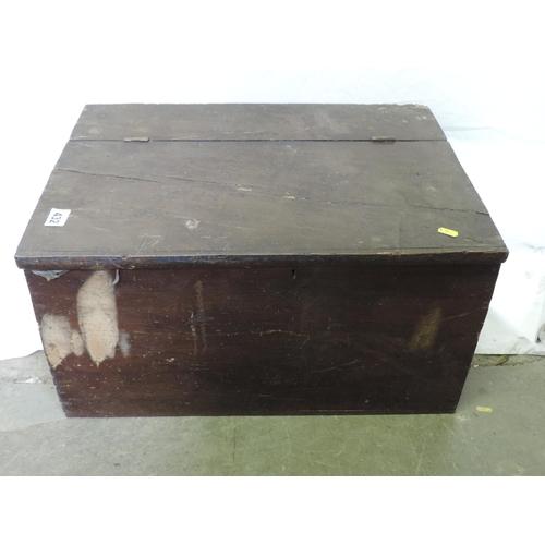 432 - Pine box...