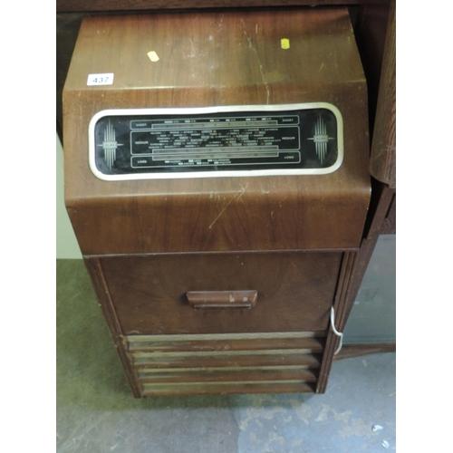 437 - Old radiogram...