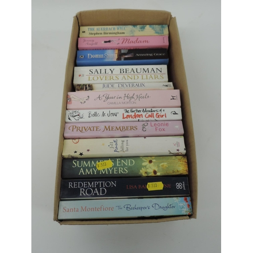 464 - Box of books - novels...