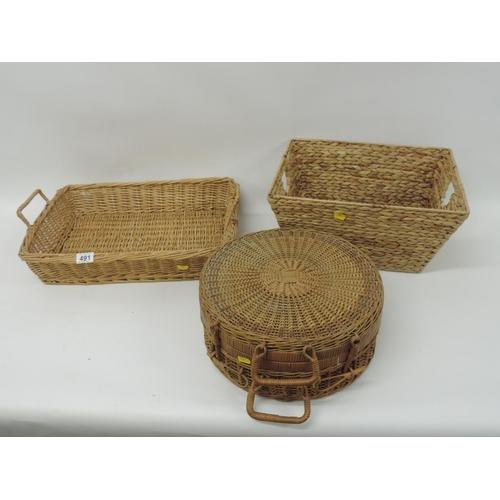 491 - Basketware...
