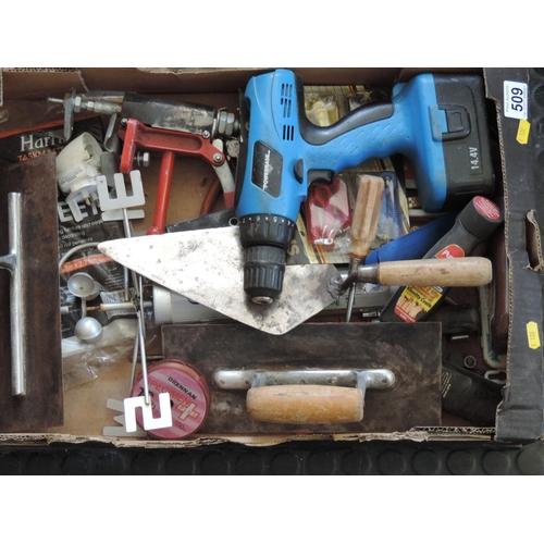 509 - Box of tools...